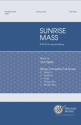 Ola Gjeilo: Sunrise Mass