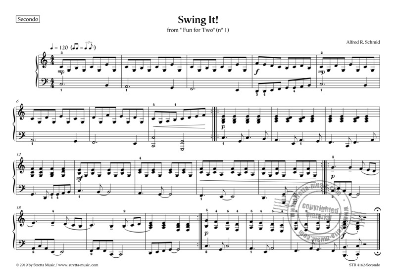 Alfred R. Schmid: Swing It! (1)