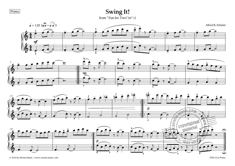 Alfred R. Schmid: Swing It! (2)