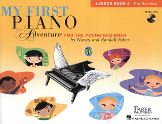 Randall Faber m fl.: My First Piano Adventure – Lesson Book A