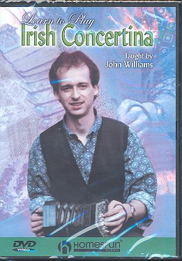 John Williams: Learn To Play Irish Concertina Dvd