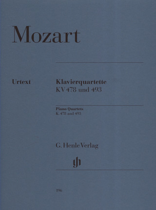 Wolfgang Amadeus Mozart: Piano Quartets K. 478 and 493