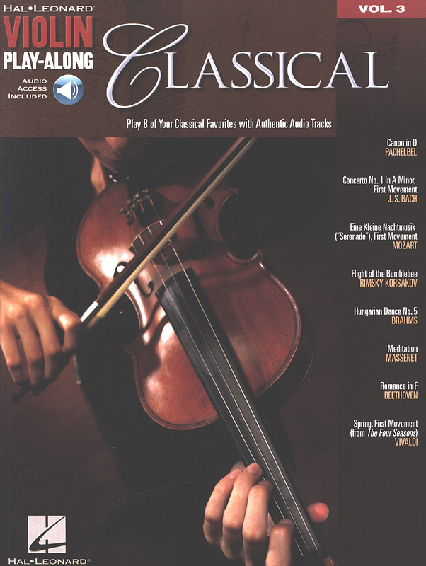 Violin Play-Along 3: Classical