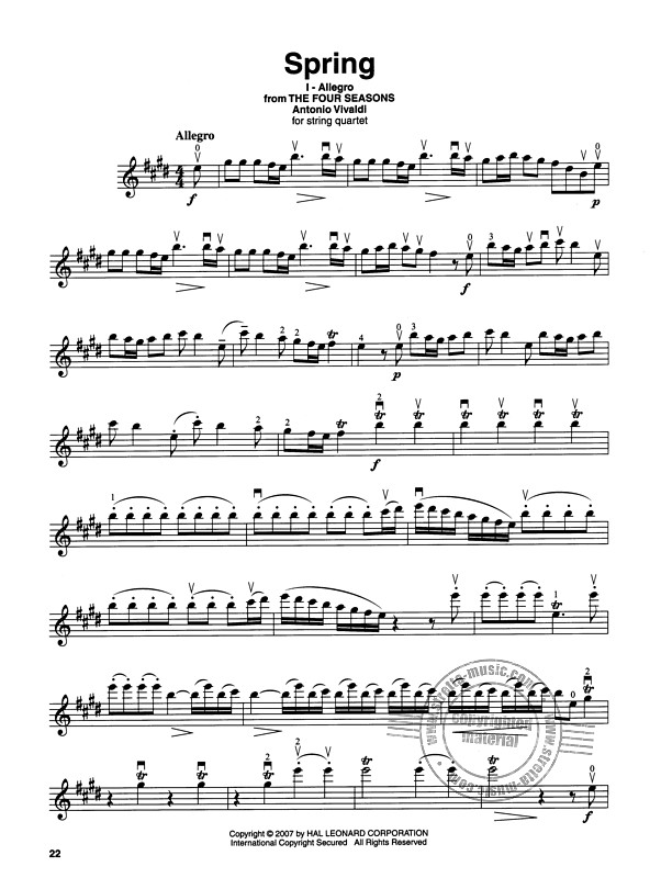 Violin Play-Along 3: Classical (2)
