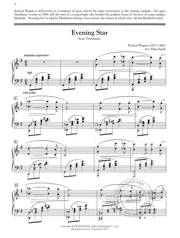 Richard Wagner: Evening Star (Aus Tannhaeuser) (1)