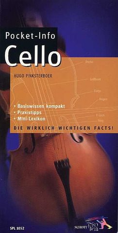 Hugo Pinksterboer: Pocket-Info Cello