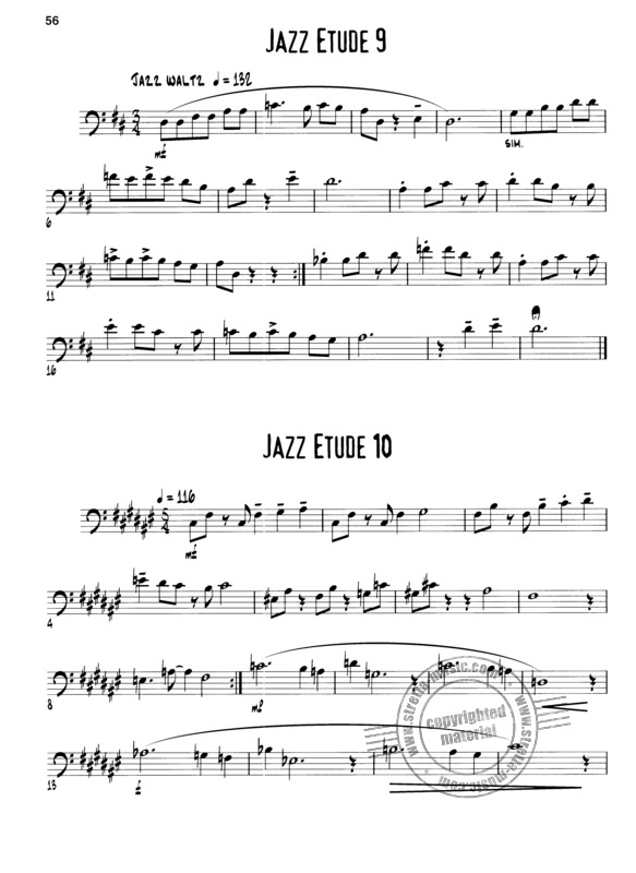 J.J. Johnson: Exercises and Etudes for the Jazz Instrumentalist (3)