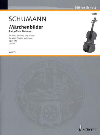 Robert Schumann: Fairy-Tale Pictures