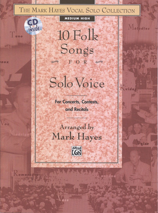Mark Hayes: 10 Folk Songs – hoch/ mittel