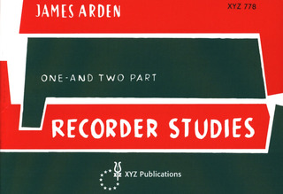 James Arden: One and two part Recorder Studies