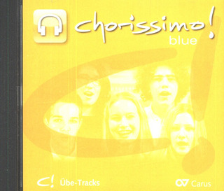 chorissimo! blue – Übe-Tracks-CD