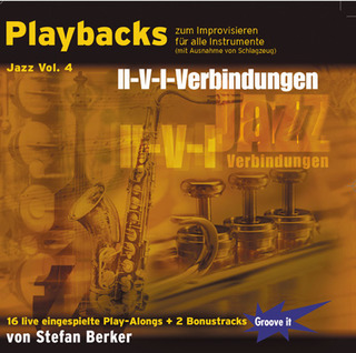 Stefan Berker: Playbacks zum Improvisieren – Jazz Vol. 4