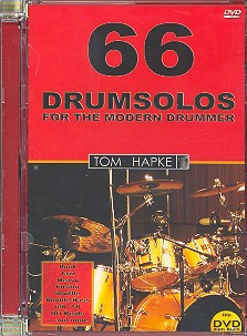 Tom Hapke: 66 Drumsolos for the Modern Drummer