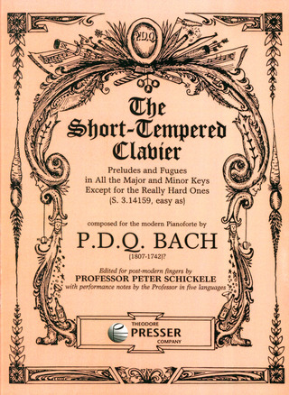 P.D.Q. Bach: The Short Tempered Clavier