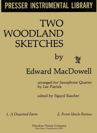 Edward MacDowell: 2 Woodland Sketches