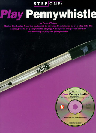Step One Play Pennywhistle Book/Cd