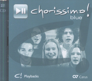 chorissimo! blue – Playback-CD