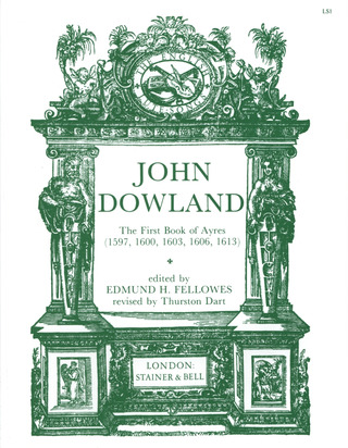 John Dowland: First Book Of Ayres