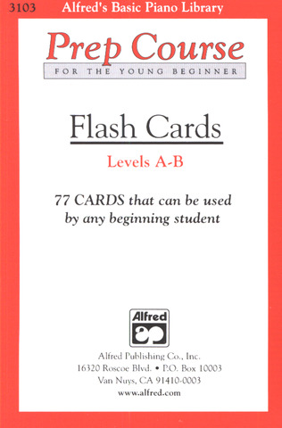 Flash Cards A-B - 77 Cards