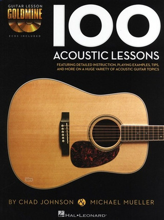 Chad Johnson: Guitar Lesson Goldmine: 100 Acoustic Lessons