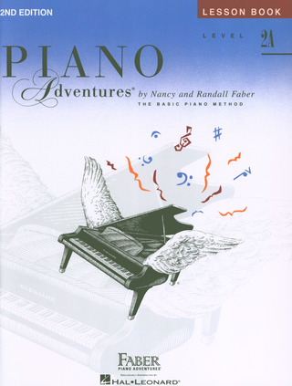 Randall Faber et al.: Piano Adventures 2A – Lesson Book