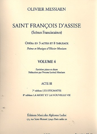 Olivier Messiaen: Saint François d'Assise 4