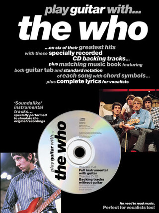 The Who: Play Guitar With The Who Tab Book/Cd