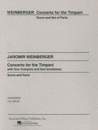 Jaromír Weinberger: Concerto for the Timpani