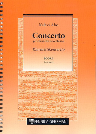 Kalevi Aho: Concerto for clarinet and orchestra