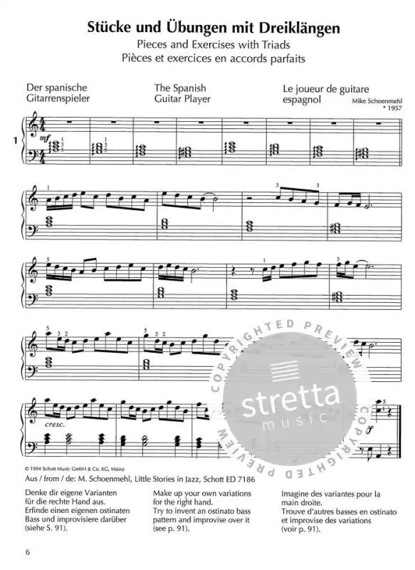 Fritz EMONTS Europäische Klavierschule Band 3 Klavier Noten Schule