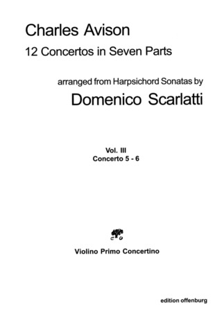 Domenico Scarlatti et al.: 12 Concertos In 7 Parts 3