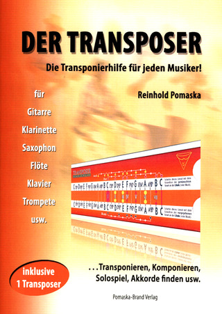 Reinhold Pomaska: Guitar TV – Der Transposer