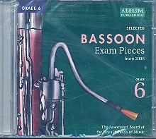 Selected 6 Bassoon Examination Pieces 6 2006