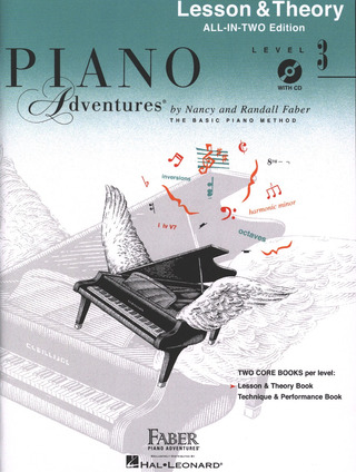 Randall Faber et al.: Piano Adventures 3 – Lesson & Theory