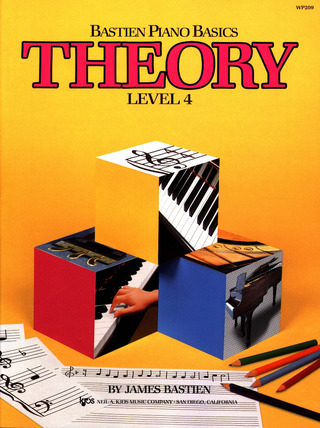 James Bastien: Bastien Piano Basics – Theory 4