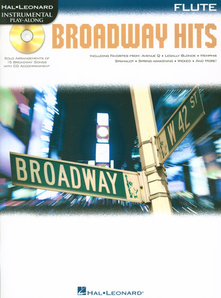 Hal Leonard Instrumental Play-Along: Broadway Hits – Flute