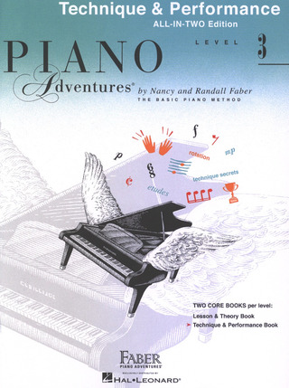 Randall Faber et al.: Faber Piano Adventures 3 – Technique & Performance