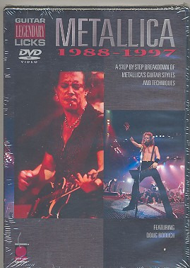 Metallica: Legendary Licks Guitar 1988-1997