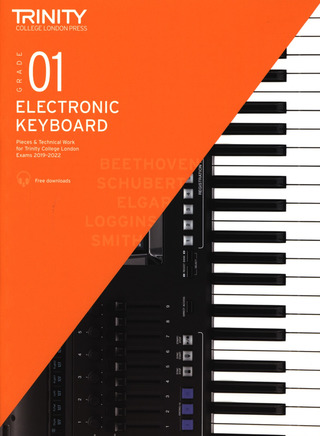 Trinity College of Music: Electronic Keyboard – Grade 1