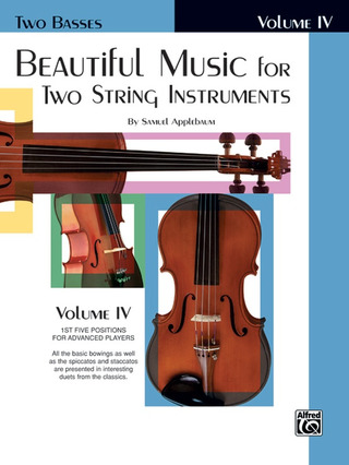 Samuel Applebaum: Beautiful Music for Two String Instruments 4