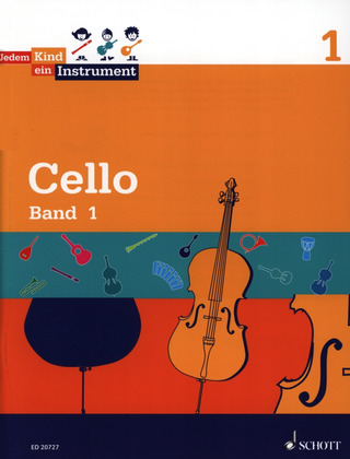Luise Schroeter y otros.: Jedem Kind ein Instrument 1 – Cello