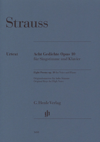 Richard Strauss: Eight Poems op. 10