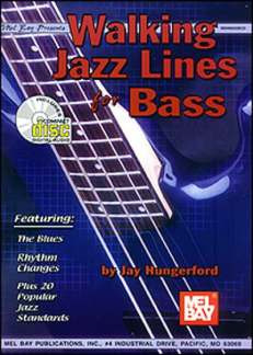 Hungerford Jay: Walking Jazz Lines For Bass