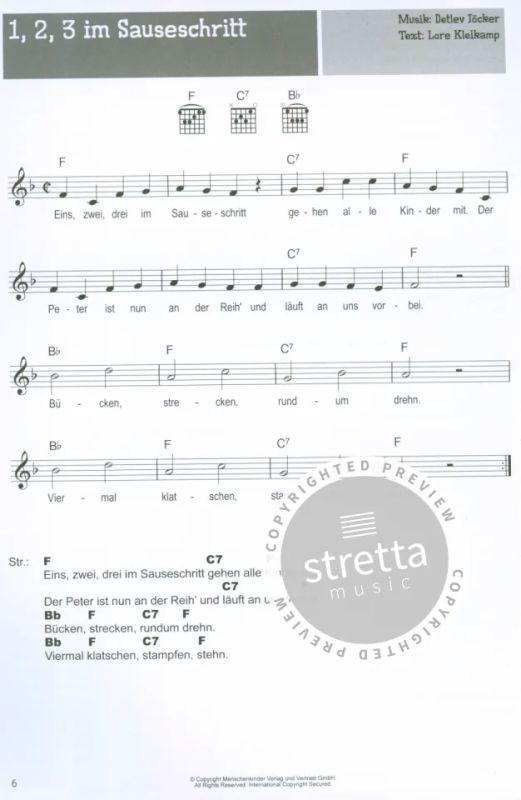100 Kinderlieder Fur Gitarre Im Stretta Noten Shop Kaufen
