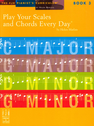 Helen Marlais: Play Your Scales & Chords Every Day 3