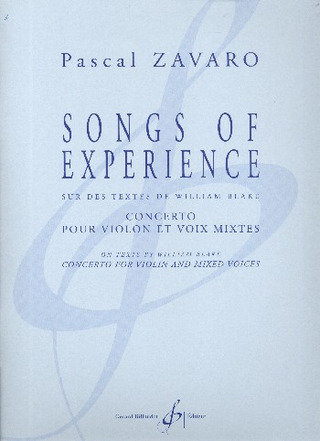 Pascal Zavaro: Songs of Experience