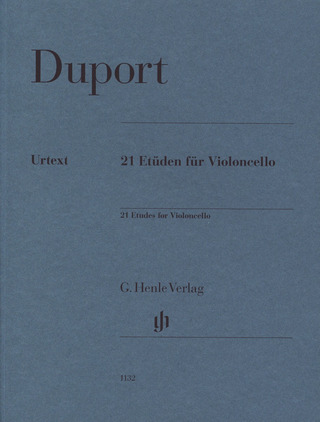 Jean-Louis Duport: 21 Etüden