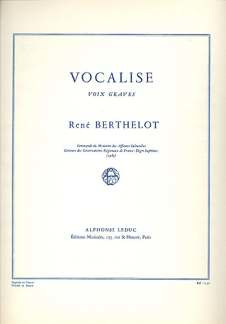 René Berthelot: Vocalise