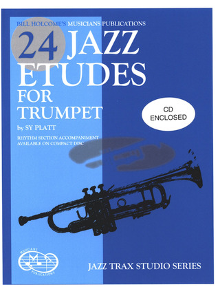 Sy Platt: 24 Jazz Etudes for Trumpet