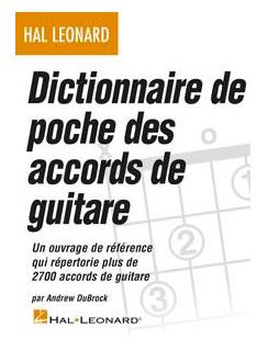 Andrew DuBrock: Dictionnaire de poche des accords de guitare